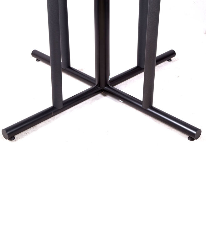 Outdoor Black Metal Table Legs Dining Room Table Base For Restaurant Table Base