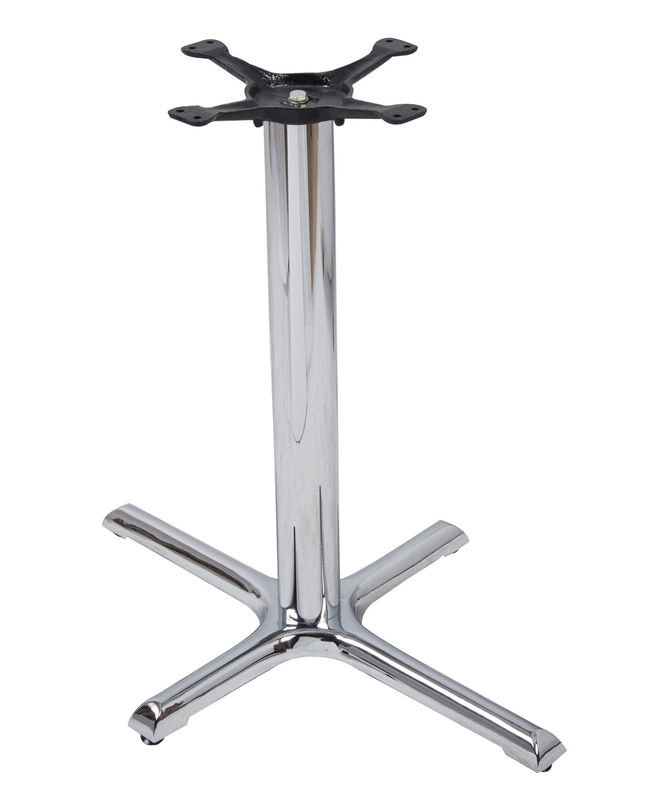 Customized Aluminum Table Legs Chrome Metal Table Legs For Home Furniture