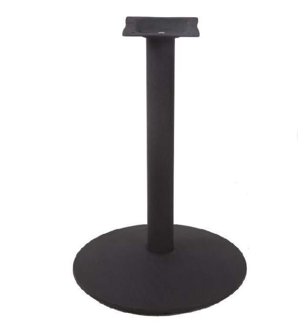 Cast Iron Bistro Table Base Powder Coated Round base Restaurant Table bar table