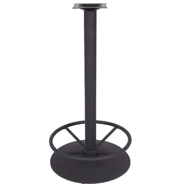 Classical design round Table leg with Footring Bistro Table Base Outdoor Furniture