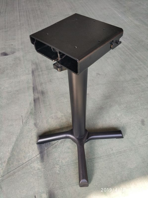 Metal Bistro Table Base Flip Over Table legs Space saving table bases Restaurant Dining Table