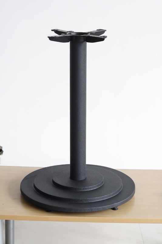 "Classic Furniture Design Heavy Duty Metal Table Legs 13"" Spider Black Color"